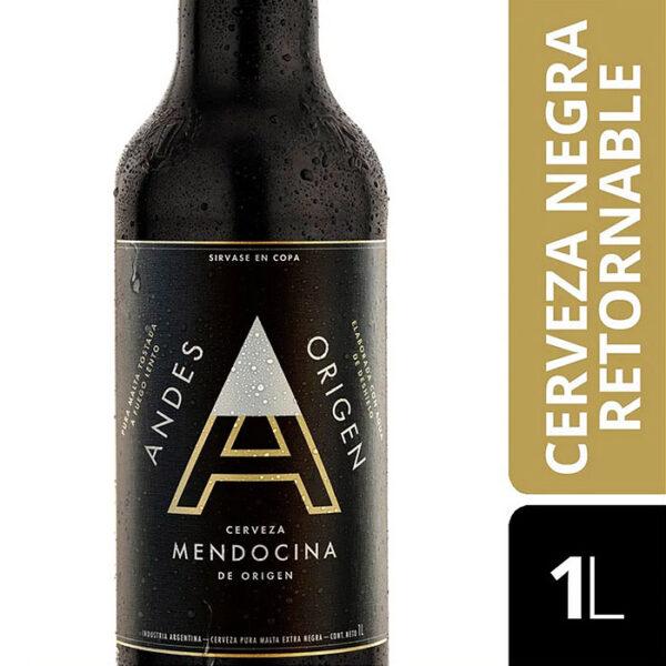 Cerveza Andes Origen Negra Mendoza Argentina