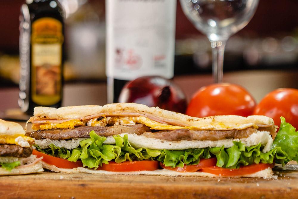 Sabores Mendoza   Sandwiches - Comida Pedidos Online Delivery Mendoza