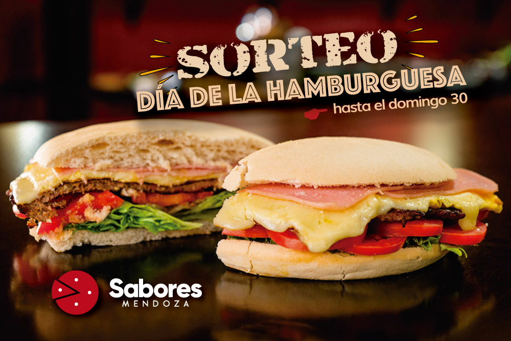 Sorteo de Hamburguesa Completa Sabores Mendoza Delivery