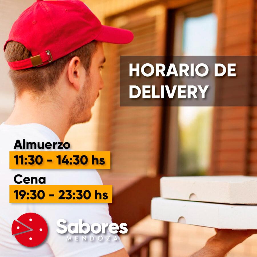 Envío a Domicilio en Mendoza de Empanadas Pizzas Delivery Sabores Mendoza