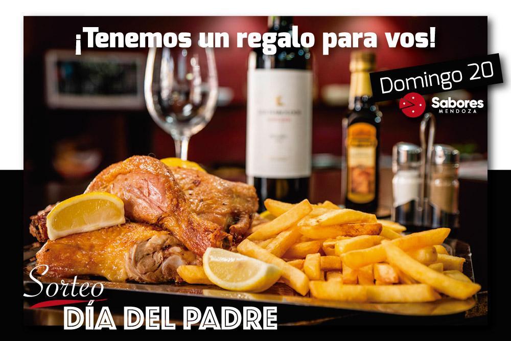 Sorteo Día del Padre Sabores Mendoza Delivery Envíos a Domicilio en Mendoza