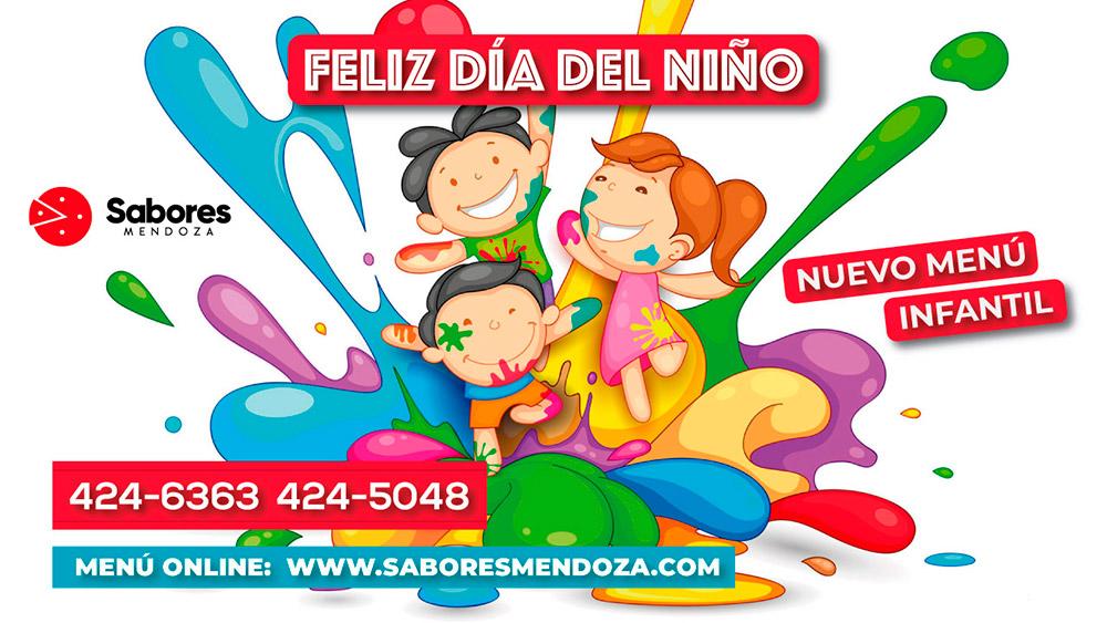 Sorteo Dia del Niño en Mendoza Sabores Delivery
