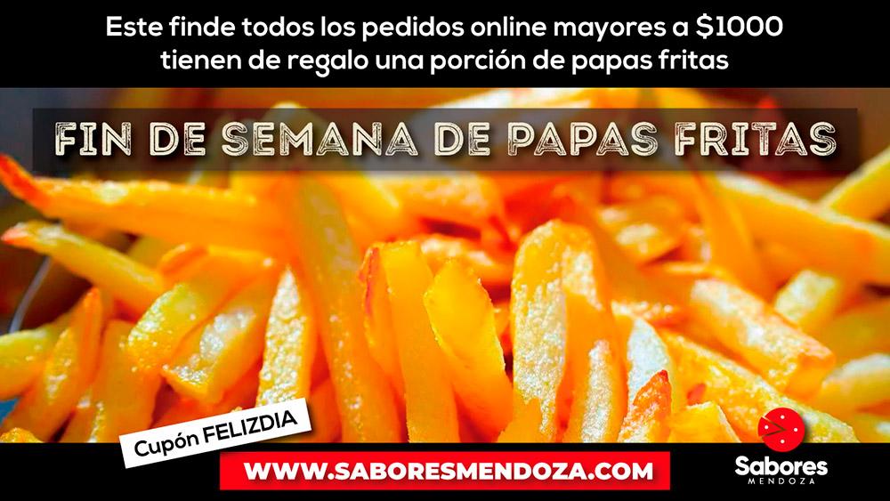 Promo Papas Fritas Gratias Sabores Mendoza Delivery